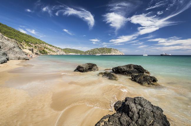 Playas de Ibiza Playa de S'Aiguas Blanca