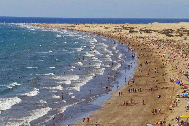 Playa del Inglés 2-Playas de Las Palmas de Gran Canaria- Playea