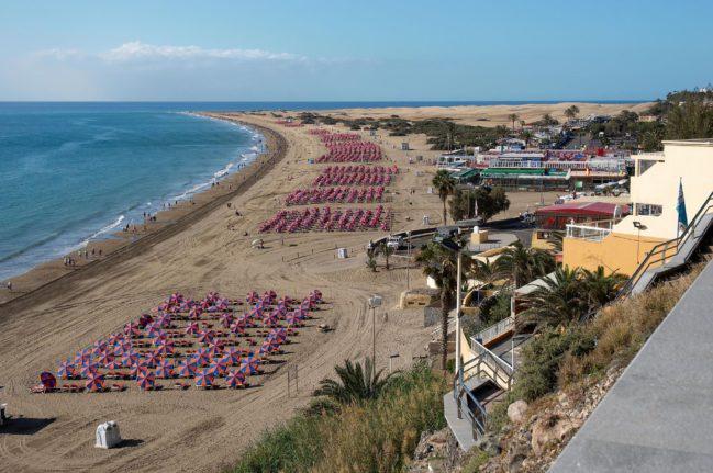 Playa del Inglés-Playas de Las Palmas de Gran Canaria- Playea
