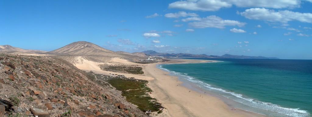 Sotavento es la más famosa de las playas de Fuerteventura