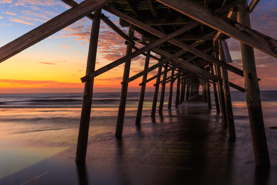sunset-beach-brunswick-island-north-carolina-playea