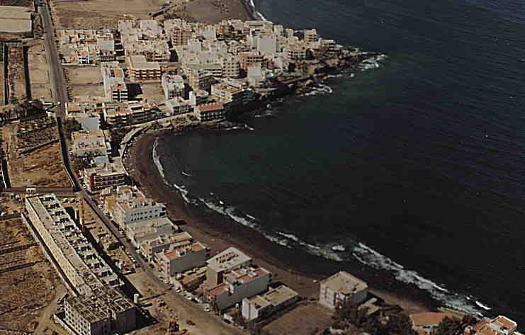 Las mejores playas de Gran Canaria, imagen de la playa de Salinetas