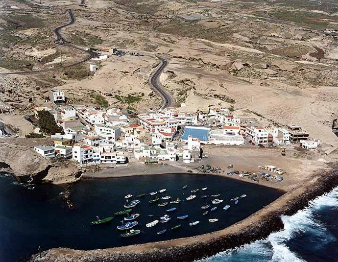 Las mejores playas de Tenerife, imagen de la playa de Tajao