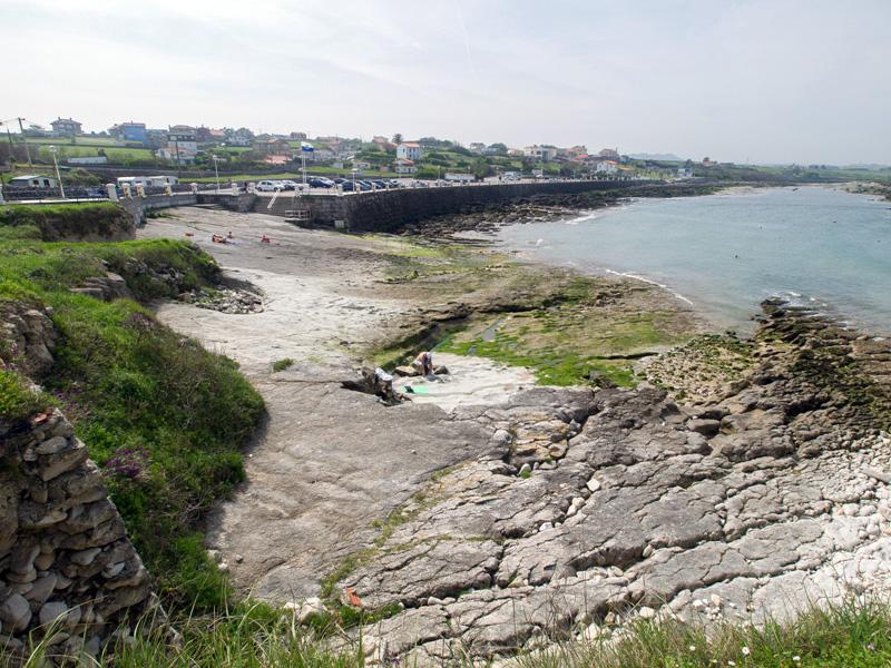 Las mejores playas de Cantabria, imagen de la playa de La Maruca