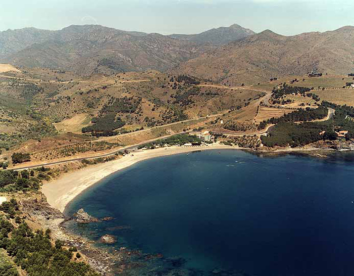Las mejores playas de Girona, imagen de la playa de Garbet