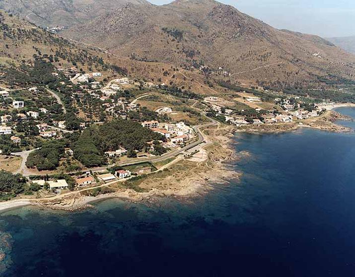 Las mejores playas de Girona, imagen de la playa de L''Arola'