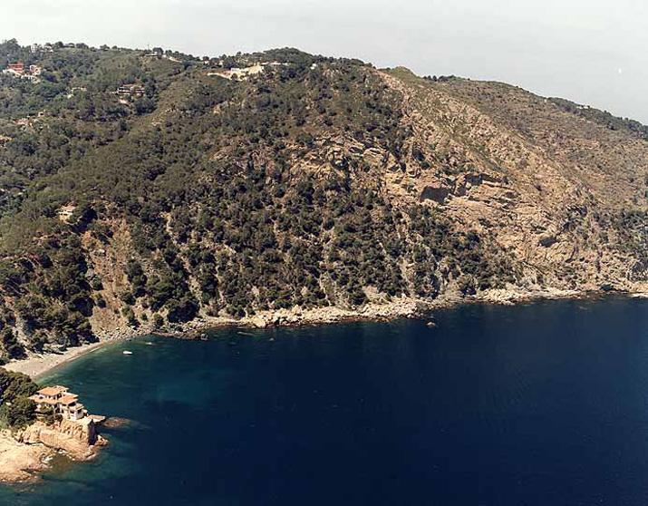 Las mejores playas de Girona, imagen de la playa de Playa Fonda