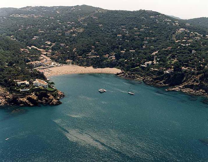 Las mejores playas de Girona, imagen de la playa de Sa Riera