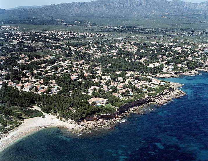 Las mejores playas de Tarragona, imagen de la playa de Torrent Del Pi