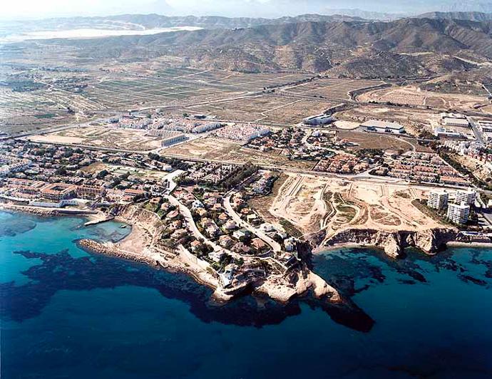 Las mejores playas de Alicante, imagen de la playa de La Almadraba