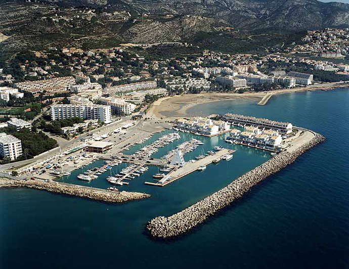 Las mejores playas de Castellón, imagen de la playa de Les Fonts