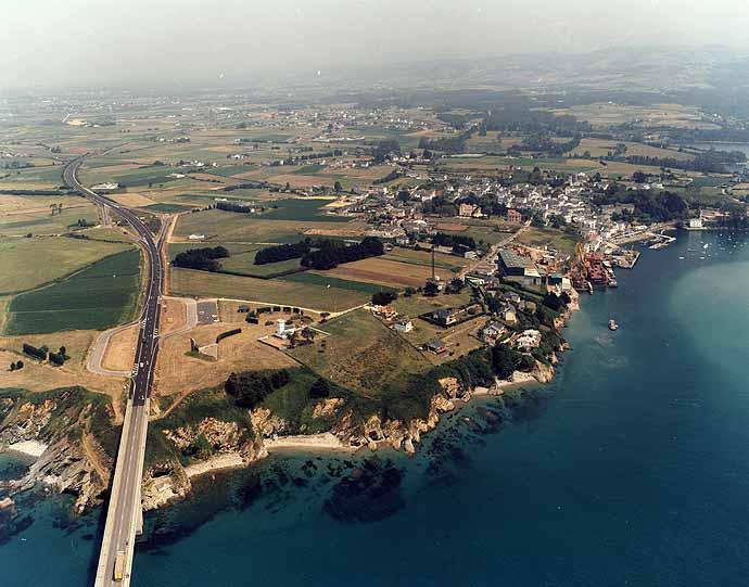 Las mejores playas de Asturias, imagen de la playa de San Román