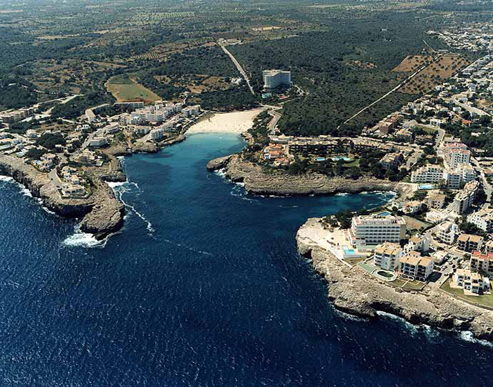 Las mejores playas de Mallorca, imagen de la playa de Cala Marçal