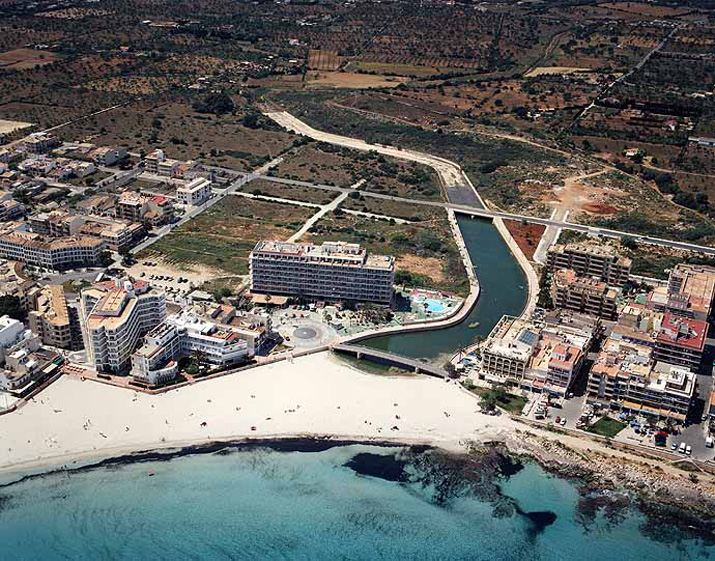 Las mejores playas de Mallorca, imagen de la playa de Cala Moreia / S''Illot'