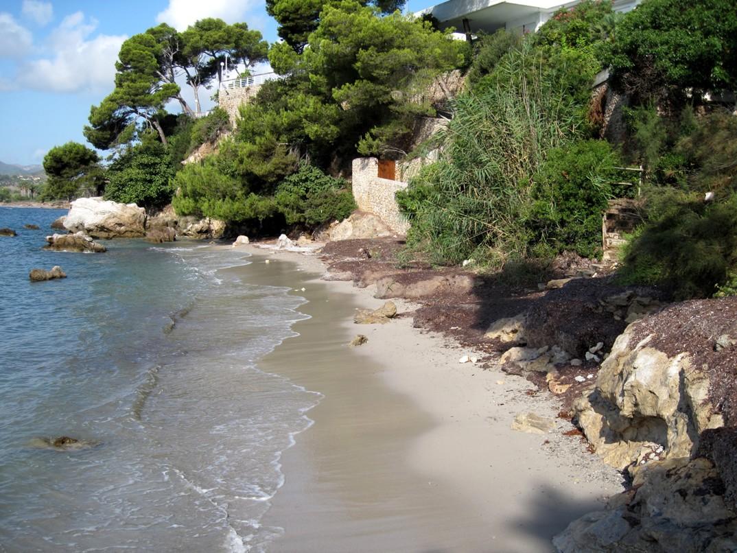 Las mejores playas de Mallorca, imagen de la playa de Es Rajoli