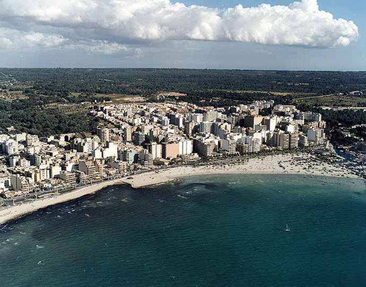 Las mejores playas de Mallorca, imagen de la playa de Palma / S''Arenal'