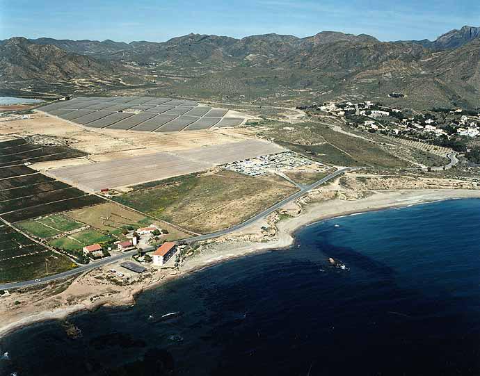 Las mejores playas de Murcia, imagen de la playa de El Mojón