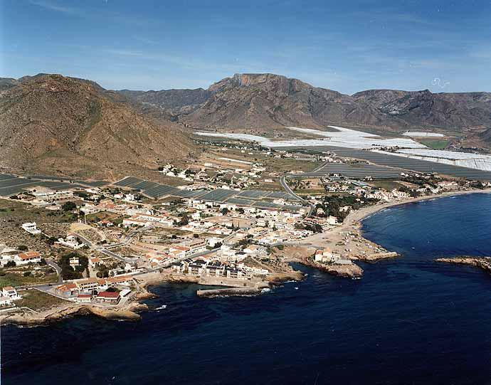 Las mejores playas de Murcia, imagen de la playa de La Caleta