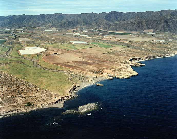 Las mejores playas de Murcia, imagen de la playa de La Galera