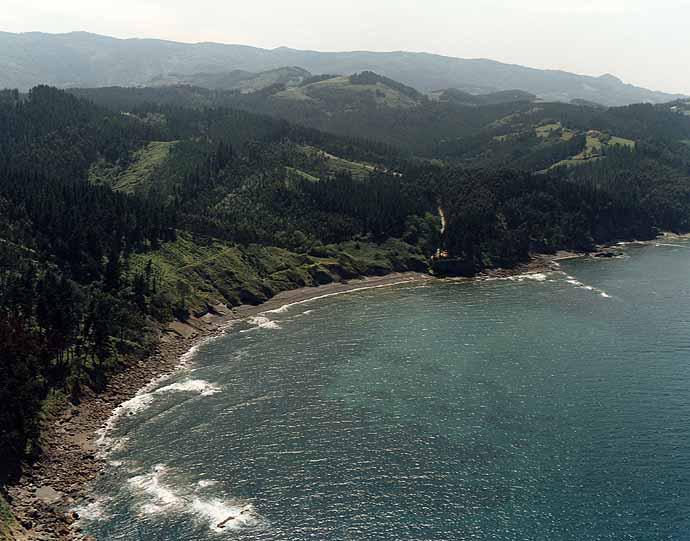 Las mejores playas de Bizkaia, imagen de la playa de Ogeia / Ogeia Ispaster