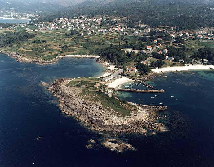 Las mejores playas de Coruña, imagen de la playa de Cabanas