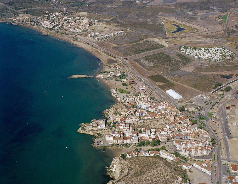 Las mejores playas de Almería, imagen de la playa de Cala de La Tía Antonia