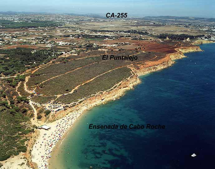 Las mejores playas de Cádiz, imagen de la playa de Cala Del Aceite