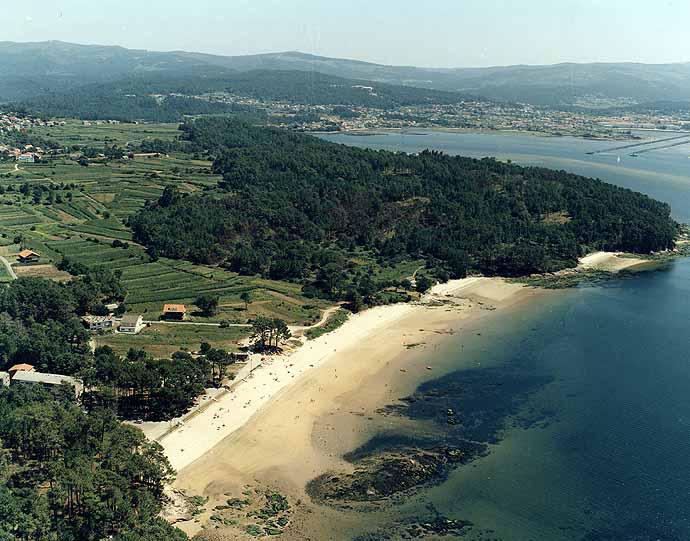 Las mejores playas de Coruña, imagen de la playa de Picouto / Picouso
