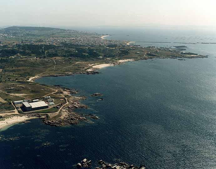 Las mejores playas de Coruña, imagen de la playa de Couso