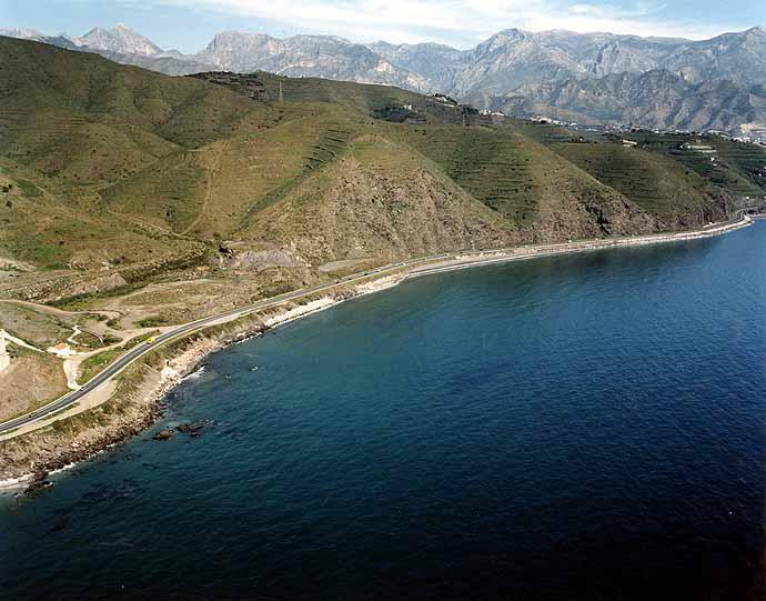 Las mejores playas de Málaga, imagen de la playa de Calaceite