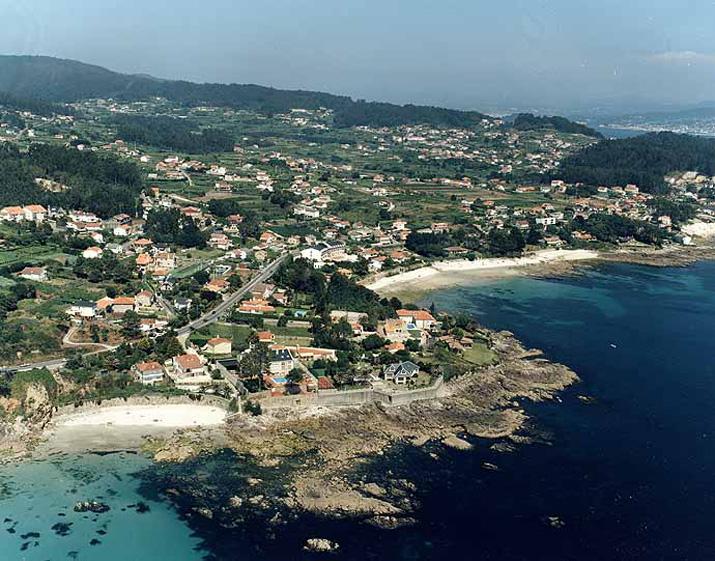 Las mejores playas de Pontevedra, imagen de la playa de Barreiros