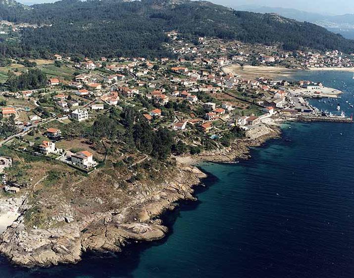 Las mejores playas de Pontevedra, imagen de la playa de Conde Sestadelo