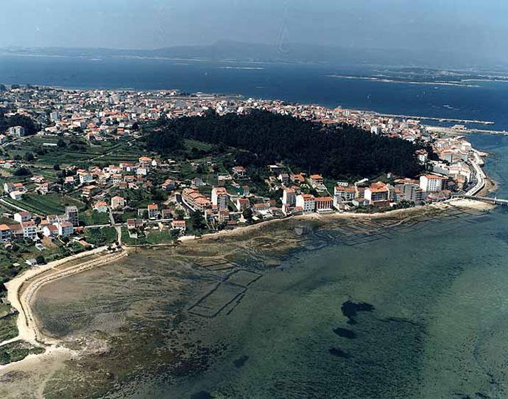 Las mejores playas de Pontevedra, imagen de la playa de Graña