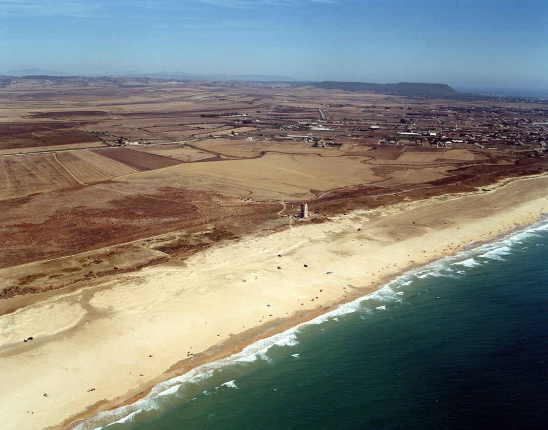 Las mejores playas de Cádiz, imagen de la playa de Castilnovo