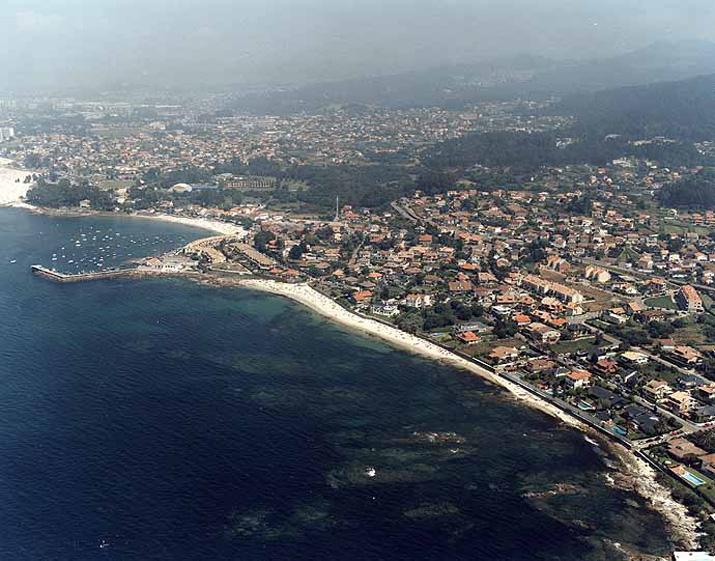 Las mejores playas de Pontevedra, imagen de la playa de O Fuchiño / Xunqueiro / Da Mosca O Monduiña