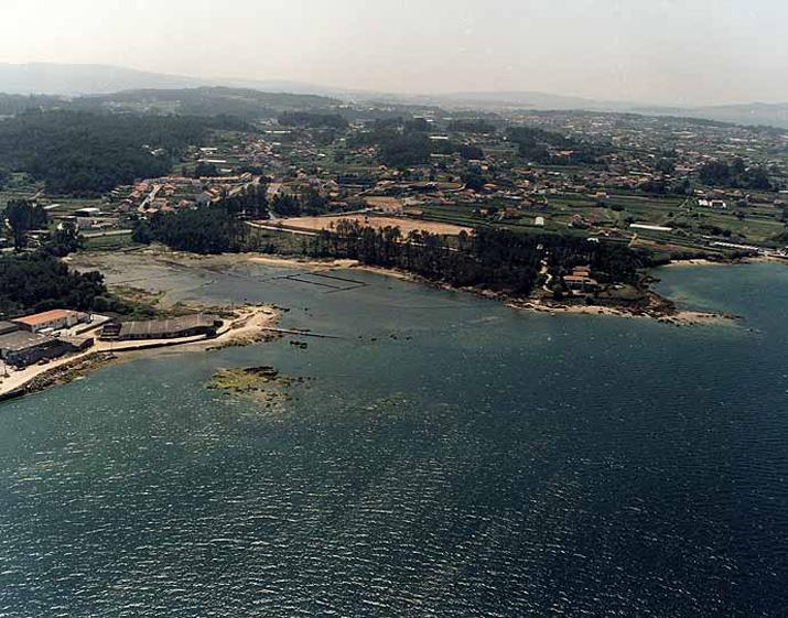Las mejores playas de Pontevedra, imagen de la playa de O Rial