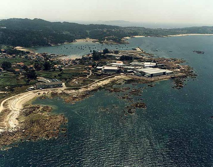 Las mejores playas de Pontevedra, imagen de la playa de Sangatiño / Porto Dos Padroneses