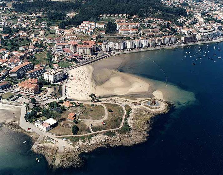 Las mejores playas de Pontevedra, imagen de la playa de Santa Marta