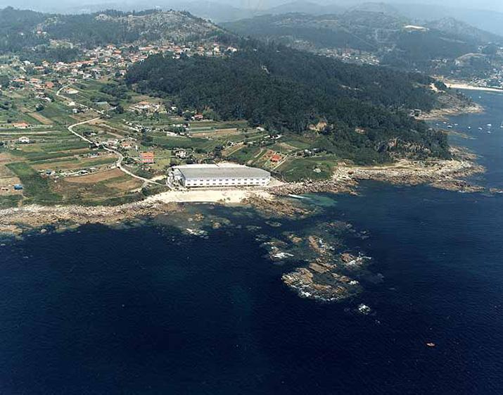 Las mejores playas de Pontevedra, imagen de la playa de Temperáns