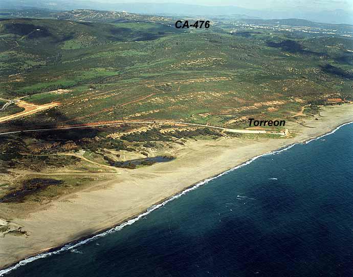 Las mejores playas de Cádiz, imagen de la playa de El Burgo / Torrenueva