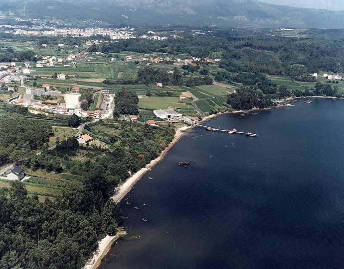 Las mejores playas de Coruña, imagen de la playa de Supicho