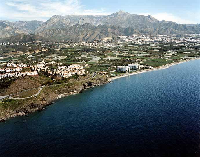 Las mejores playas de Málaga, imagen de la playa de El Playazo