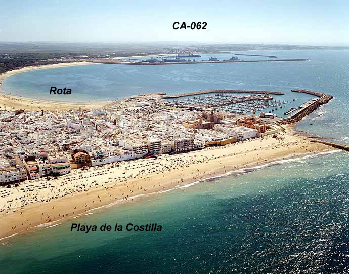 Playas de Rota  playeaes