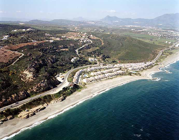 Las mejores playas de Málaga, imagen de la playa de Las Arenas