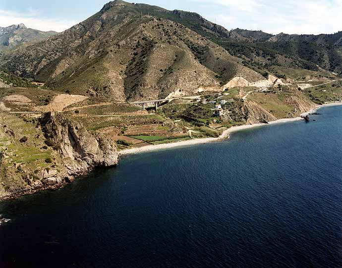 Las mejores playas de Málaga, imagen de la playa de Molino de Papel