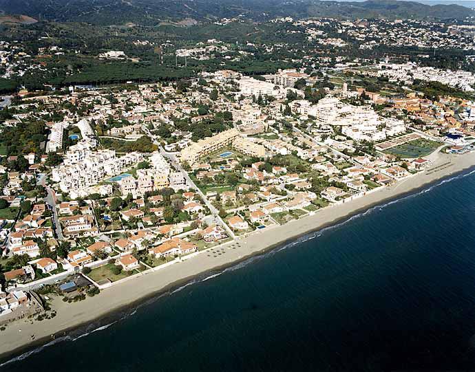 Las mejores playas de Málaga, imagen de la playa de Pinomar