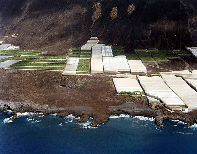 Las mejores playas de La Palma, imagen de la playa de Abadejos