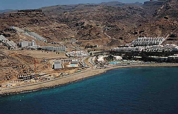 Las mejores playas de Gran Canaria, imagen de la playa de El Cura