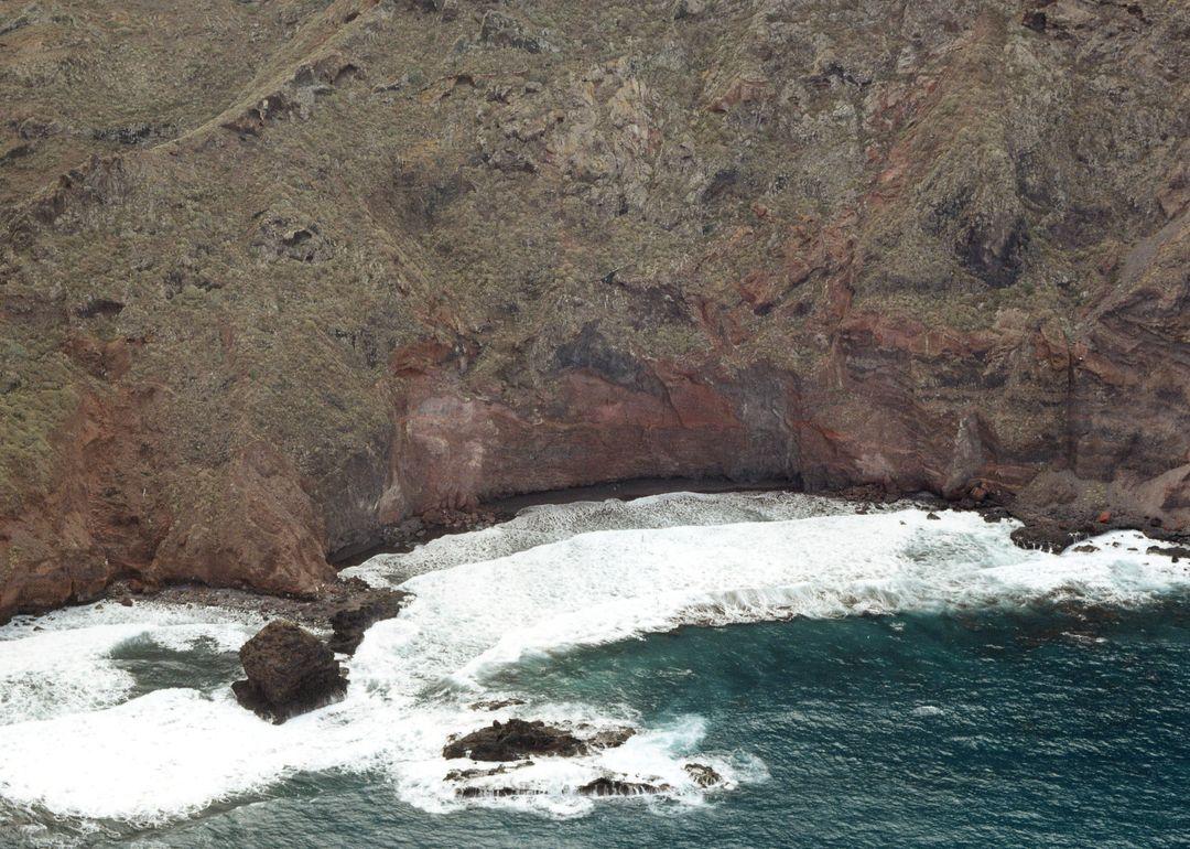 Las mejores playas de Tenerife, imagen de la playa de Juan Negrín