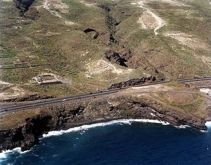 Las mejores playas de Tenerife, imagen de la playa de La Enramada